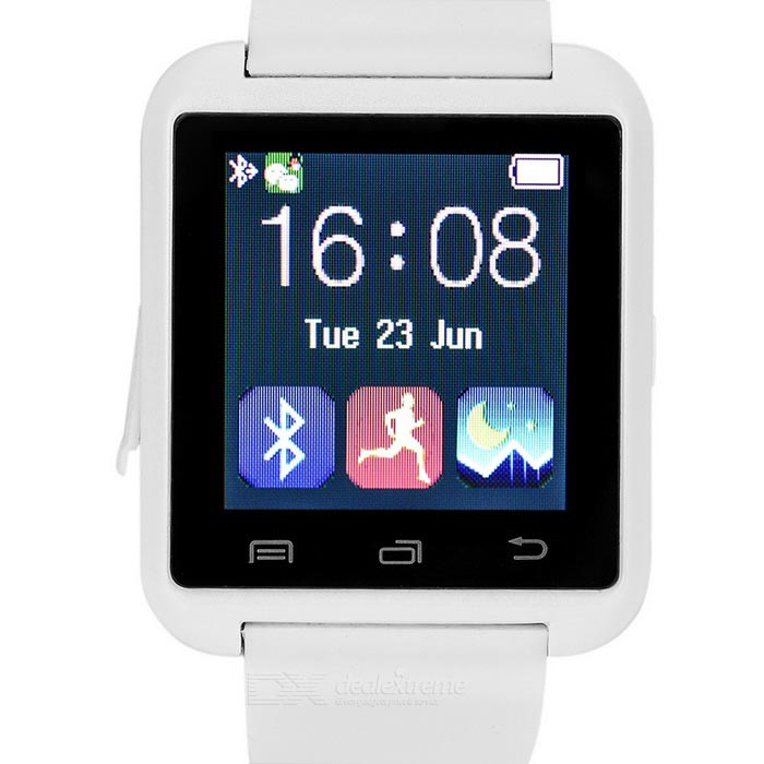"1.5"" BT Smart Watch w/ Pedometer, Remote Shutter for IOS, Android"
