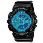 Genuine Casio G-Shock GA-110B-1A2DR Hyper Coloring Analog-Digital Watch - Black