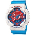 Genuine Casio G-Shock Limited Model GA-110AC-7ADR Red and Blue Series - White