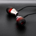 JBMMJ MJ-900 Wired 3.5mm In-Ear Earphones Headphones - Black + Grey