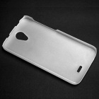 DOOGEE PC Back Case for DOOGEE VALENCIA2 Y100 - Translucent White
