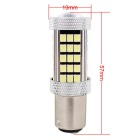 MZ 1157 12.6W LED Car Brake White 630lm SMD 2835 w/ Constant Current