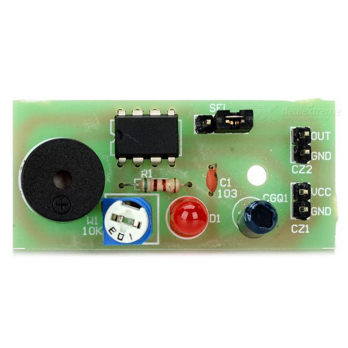Sound & Light Vibration Detection Sensor Alarm Module for Arduino
