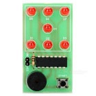 DIY LED Electronic Dice Module - Green + Red