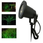 30mW Single Green Starry Twinkling IP65 Waterproof Outdoor Garden Lawn Laser Light (220~240V)