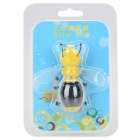 Educational Solar Powered Bee Toy for Kids - Yellow + Black