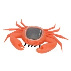 Educational Solar Powered Crab Toy for Kids - Orange + Black