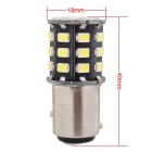 MZ 1157 6.6W White 33-SMD 330lm LED Car Brake Light Constant Current