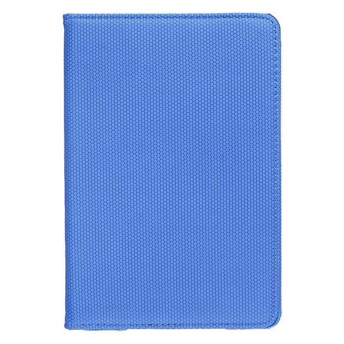 Protective Lychee Pattern 360 Degree Rotation PU Leather Case Cover Stand for IPAD Mini 1/2/3 - Blue