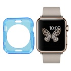 Protective TPU Dial Screen Protector Case for APPLE WATCH 42mm - Translucent Blue