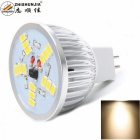 ZHISHUNJIA MR16 5W 400lm 3000K 15-SMD LED Warm White Light - Silver