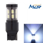 MZ T20 7.5W 15-SMD 5630 525lm LED Car Rear Fog Lamp / Backup Light White Light (12~24V)