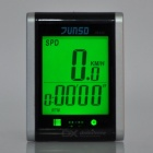 "JUNSD 16-Function Water Resistant 1.6"" Screen Bike Computer - Silver"