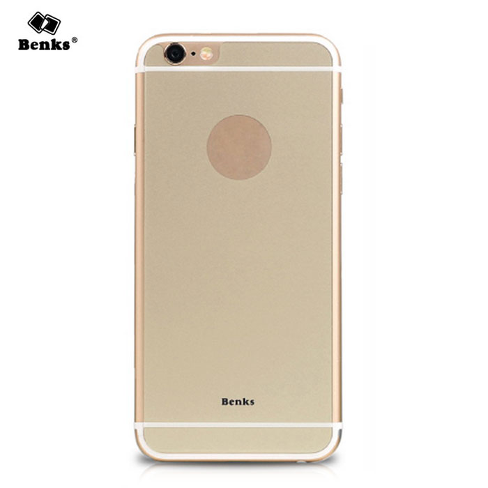 benks magi okr + AGC glass tilbake film for iPhone 6 Plus - golden