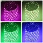5M 75W Waterproof RGB 300-LED Light Strip w/ 44-Key Remote (EU Plug)