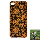 KIUKIU Flower Wallpaper Style Universal Smart Mounting Sticker for IPHONE 4 / 4S & Case