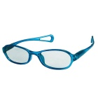 ReeDoon Children's 3D Glasses Cinema Polarized 3D Stereo Glasses RealD Format - Blue + Transparent