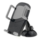 MO.MAT Car Air Vent Phone Mount w/ Suction Cup Holder - Black + Gray