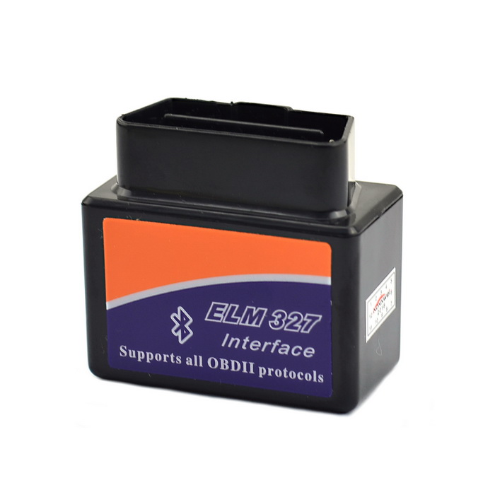 ELM327 Bluetooth OBD2 V2.1 Interface de diagnostic de voiture - Noir