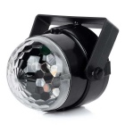exLED 4W LED RGB Light Crystal Magic Ball Voice Control Car Party Lamp
