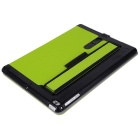 Toothpick Grain PU + PC Case for IPAD AIR / AIR 2 - Fluorescent Green
