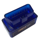 Mini Car OBDII ELM327B V2.1 Wireless Code Reader Scanner Support Android Phone - Blue