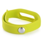 Silicone Wrist Band for Xiaomi Smart Bracelet - Fluorescent Green