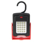 Multifunctional LED 160lm Cold White 2-Mode Camping Lamp - Black + Red