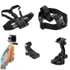 5-in-1 Sports Camera Accessories Kit for GoPro Hero 4 / 3 / 3+ / SJ4000 / SJ5000 / SJCam / Xiaoyi