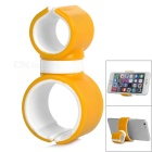 360 Degree Rotary Car Mount Holder for IPHONE 6 PLUS / 6 / 5S / 5G - Yellow