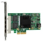1000Mbps RJ45 4-Port PCI-E i350AM4 Network Adapter Card - verde + Multicolor