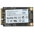 mSATA 16GB SATA2 SSD w/ PCI-E, eSATA for Laptop, Desktop, Related Digital Products - Black
