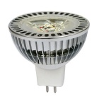 JIAWEN MR16 3W 3-LED 300lm branco quente dimmable projector LED - prata