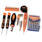 SDBL Mini Home Repair Tool Kit - Orange + Black + Multicolor
