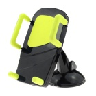 MO.MAT Car Air Vent Phone Mount w/ Suction Cup Holder - Black + Yellow