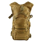 Outdoor Tactical 800D Oxford Double Shoulder Backpack Bag - Khaki