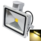 JIAWEN Waterproof 20W 3200K 1700lm Warm White LED Human Body Infrared Induction Floodlight