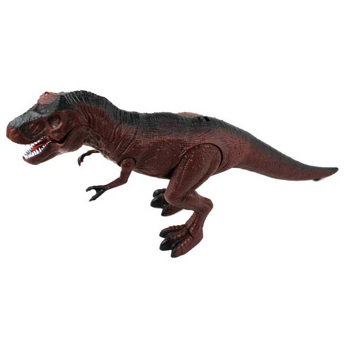 Infrared Ray Remote Control Dinosaur Toy - Brown (3*AAA)