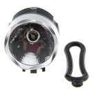 Ultrafire 3W 1-LED 120lm 3-Mode White Bike Light - Black + Silver