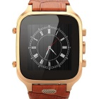 "Fifine M-w9 1.5"" IPS Screen Android 4.4.2 Dual-Core WCDMA Smart Touch Watch Phone w/ 8GB ROM - Brown"