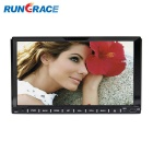 "Rungrace RL-202WGNR02 7"" TFT Screen 2-Din In-Dash Car DVD Player w/ BT, Navigation GPS, RDS - Black"
