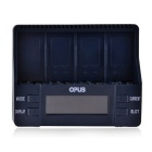 "BT-C900 2.4"" LCD US Plug 4-Slot Li-ion / Ni-MH / NiCd Battery Charger for 9V Rechargeable Battery"