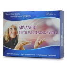 Dental Bleaching System / Teeth Whitener Whitening Kit - White + Blue