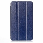 EPGATE Protective PU Leather Flip-Open Case Cover w/ Stand for Asus Fonepad 7 FE171MG - Deep Blue