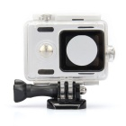 Kingma Waterproof Plastic Housing Case Shell for Xiaomi Xiaoyi Digital Camera - White
