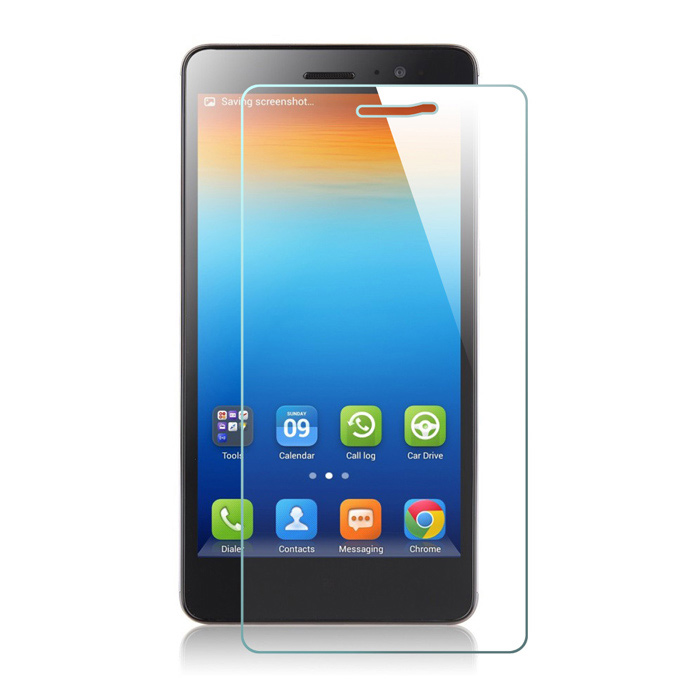 Mr.northjoe 0.3mm 2.5D 9H Tempered Glass Screen Guard Protector for Lenovo S860 - Transparent