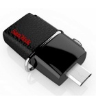 Sandisk SDDD2-016G 16GB Flash Drive Micro USB Connector-Black