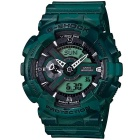 Genuine Casio G-Shock Special Color Model GA-110CM-3AER Analog Digital Watch - Camouflage Green