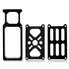 Carbon Fiber + Aluminum Alloy Motor Mount Holder for 25mm Tube Arm - Black