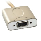 USB 3.1 C-tyypin VGA videosovitinkaapelia MacBook Air 12 \